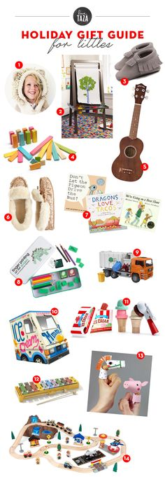 a holiday GIFT GUIDE for the little ones
