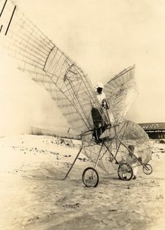 George White, Ornithopter, 1928