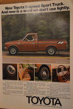 Toyota sport truck.. new for 1975