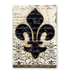 Fleur-de-Lis Wall Decor $21.99