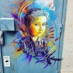 #Repost @my_biotiful_newlife  Ma ville & son principal artiste que je vous ferais découvrir au fil de mes pérégrinations Vitryotes avec l'envie folle qu'il s'occupe un de ces jours sur le mur qui donne dans la rue de mon chez moi... @christianguemy  #streetart #art #passion #express #artistic #c215 #beautiful #paint #wonderful #world #partage #paris #vitrysurseine #yogagirl #namaste #blissful #hapiness #meditation #followhim #folowme by christianguemy