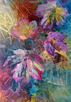 Watercolor ~ amazing! Dance of Colors - Vijay Sharon Govender