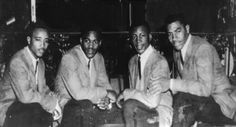 """The Four Kings (2) aka The Canes (Menphis, Tenesee)  Personnel : Don Bryant (Lead) James """"Jamie"""" Bryant (Tenor) Elvin Lee Jones (Second Tenor) Lionel Byrd (Baritone)"""