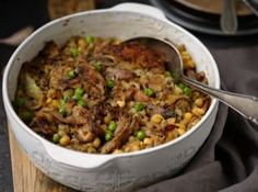 Fried Rice, Ham, Fries, Food And Drink, Beef, Ethnic Recipes, Diet, Bulgur, Meat
