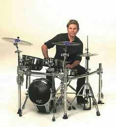 Roger Taylor, Duran Duran, Pressure Off video, drums, drummer, Paper Gods