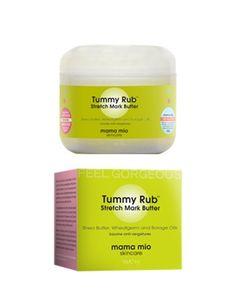 Mama Mio - Tummy Rub Butter - Hamilelik Çatlağı Önleyici Krem // Tummy Rub butter özel olarak tek bir amaç için üretildi: Cildinizin esnekliğini arttırmak. Karnınız büyüyecek, sonra küçülecek. Bu süreçten geçerken cildiniz acı çekmek zorunda değil. Ama bu bir savaş ve siz savaşmalısınız! Mama Mio Tummy Rub çatlaklarla mücadelenizde ve kaşınan karnınızı rahatlatmak için destek alabileceğiniz süper kahramanınız.