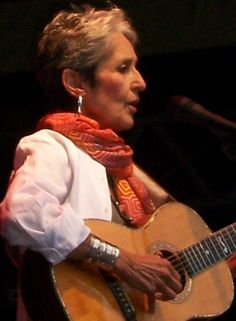 Joan Baez--beautiful music, and the beauty that comes with aging with grace.