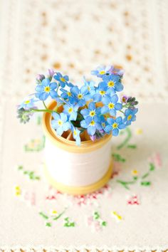 Forget-Me-Nots.......