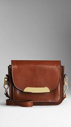 Bridle Leather Crossbody Bag