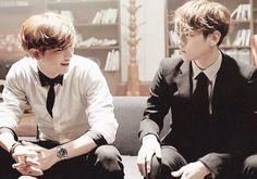 Oh gosh,  these two are so gorgeous !!! #ChanBaek #exo