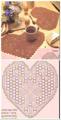 Granny Square Häkelanleitung, Granny Square Crochet Pattern, Crochet Chart, Filet Crochet, Crochet Motif, Crochet Doilies, Crochet Flowers, Knit Crochet, Crochet Decoration