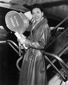 """Althea Gibson, American tennis champion and the 1st African-American woman to win a Grand Slam title: """"I want the public to remember me as they knew me: athletic, smart, and healthy…. Remember me strong and tough and quick, fleet of foot and tenacious."""""""