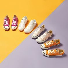Need to have help as well as tips on women's boots and sneakers. Ladies Sneakers For Jeans. Red Sneakers, Slip On Sneakers, Chuck Taylor Sneakers, Ladies Sneakers, Ebay Sneakers, Sports Footwear, Shoe Display, Golf Wear, Nike Golf