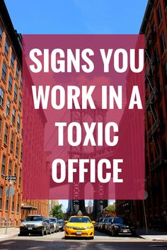 7 Signs Your Workplace is Toxic: http://psychcentral.com/blog/archives/2014/11/13/7-signs-your-workplace-is-toxic/ #career