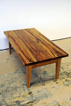 rustic log table | rustic look, long log style coffee table | this