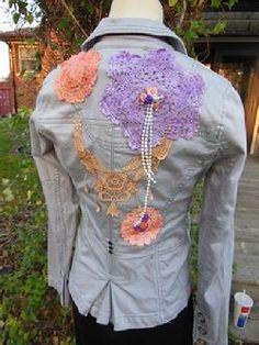 Sew My Gosh! Upcycled denim jackets