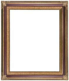 burgundy and gold heirloom picture frame 253 - Wholesale Frames
