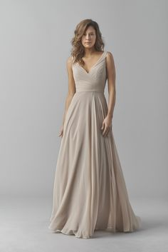 Watters Bridesmaids - Fall 2015 - 8542i Karen | Strictly Weddings