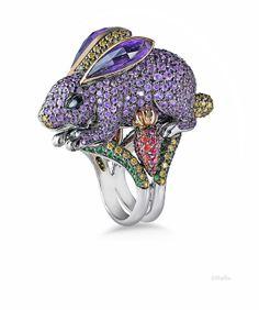 - Buy Me Diamond Creative Money Gifts, Unique Rings, Unique Jewelry, Animal Jewelry, Bunny Rabbit, Diamond Rings, Jewelry Rings, Jewellery, Jewelry Design