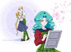 Sailor Moon, Sailor Neptune, Sailor Uranus, Sailor Scouts, Disney Characters, Fictional Characters, Aurora Sleeping Beauty, Anime, Disney Princess