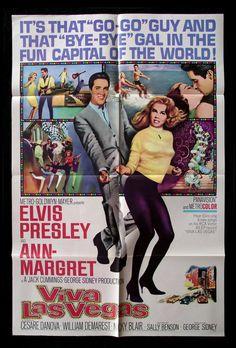 Viva Las Vegas CineMasterpieces Ann Margret Movie Poster 1964 Elvis Presley | eBay
