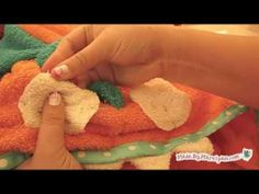 Sew A Monster Hooded Towel