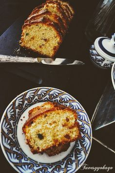 Plum Cake, French Toast, Breakfast, Food, Candied Fruit, Crack Cake, Pastries, Homemade Recipe, Recipes