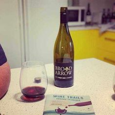Broad Arrow 2017 Pinot Noir from Tasmania - The nose is full of vanilla infused cherries and earthy mushrooms. It's fruity and savoury on the nose and in the mouth too. Read More On The Blog!  #tasmania #wineblog #winetastingnotes