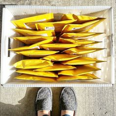 Orders shipping out today! What a beautiful sunny day   #etsy #happymail