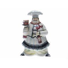 Certified International Chef de Cuisine 3-D Cookie Jar by Jennifer Garant