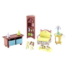 1000 images about the loving family dolls on pinterest dollhouse furniture sets fisher price for Fisher price loving family living room