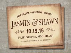 Wedding Save The Dates Photos Magnets Postcards by SAEdesignstudio