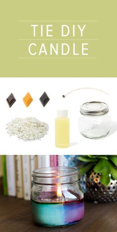 Scented Soy Candles | DIY | Darby Smart |#masonjars #candles