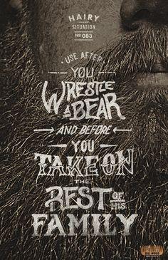 Adeevee - Big Wood Beard Combs: Use before