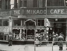 The Mikado Cafe near Snow Hill, 1950s