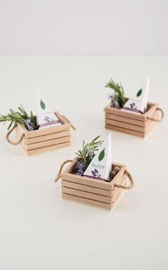 Give your favor presentation instant personality with this miniature wooden crate featuring twine handles. Completely irresistible, this unique favor.Top 19 Country Wedding Decorations - Outside The Box Wedding Affordable wholesale table accessories, Diy Gift Box, Diy Box, Diy Gifts, Wooden Crates Wedding, Wood Crates, Wood Boxes, Diy Home Crafts, Crafts To Sell, Crafts For Kids