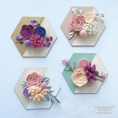 Tactics so that you can Greatly improve Your understanding of fabric dolls … - Fabric Crafts Paper Flowers Diy, Handmade Flowers, Felt Flowers, Flower Crafts, Fabric Flowers, Felt Diy, Felt Crafts, Fabric Crafts, Diy And Crafts