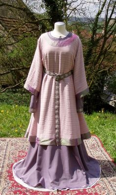 anglo-saxons clothing - Google Search