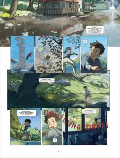 "CATSUKA - New preview (1st pages) from ""Le Monde de Milo""..."