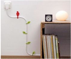 i hate unsightly cords...this is a cute option for when they just can't be hidden