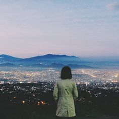 Photo tour of Bandung, Indonesia | Bandung from above. Caringin Tilu is one of the best places to watch the sunrise in Bandung.
