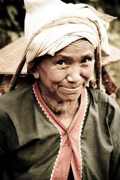 Palaung woman, Myanmar (Burma)