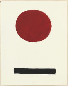 Adolph Gottlieb - Untitled, 1967, gouache on paper