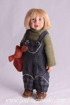 Zwergnase, Цвергназе, Звергназе, Меес-Ноа, Mees-Noah, коллекционная кукла