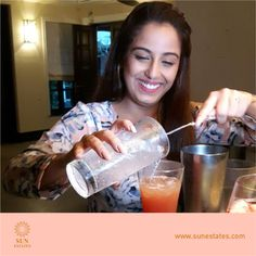 TV celebrity Srishty Rode was spotted at Sol De Goa recently having a great time.