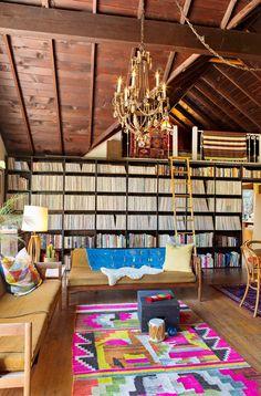 Kristin & Derek's Musical Laurel Canyon Lodge