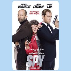 """""""Spy / Melissa McCarthy. """"Mother butler""""  ha ha ha ha!"""