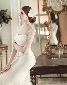 Gown by Clara Wedding 2016 / Winter Wedding Dresses 2018, Wedding Dress Styles, Wedding Girl, Weeding Dress, Queen Dress, Bridal Beauty, Beautiful Bride, Bridal Style, 2016 Winter