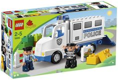 LEGO Duplo Ville 5680 City Town Country Police Man and Truck NEW Factory Sealed $52.41