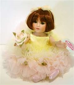 Peace Rose from the Coming up Roses Series~Marie Osmond Doll Collection.